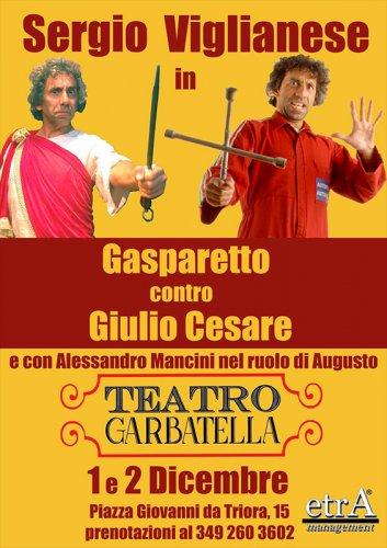 Gasparetto contro Giulio Cesare